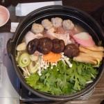 Repas diététique japonais