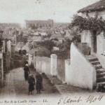 Rue la Cueille en 1900