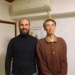 Nobuyuki Fujisaki et Antoine Di Novi