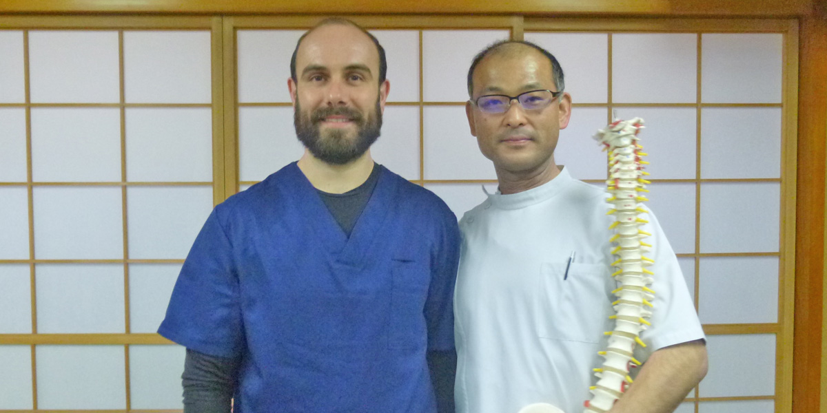Antoine Di Novi et Okamoto Masonari à Tokyo - Japon